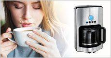Kaffemaskine med timer fra Dealtorvet, værdi kr. 799,-