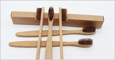 10 stk. miljø-tandbørster forhandlet fra Stonevang Products, værdi kr. 329,-