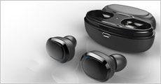 1 par bluetooth trådløse høretelefoner fra Stonevang Products, værdi kr. 399,-