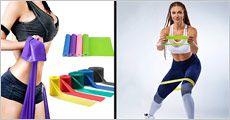 1 stk. elastisk fitnessbånd fra 4mobil, værdi kr. 199,-