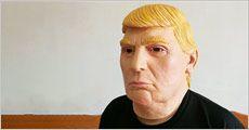 Donald J. Trump udklædningsmaske, one-size, inkl. levering, værdi kr. 239,-