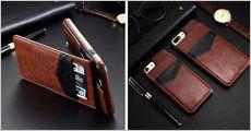 KISSCASE vintage PU læder cover til flere modeller fra 4mobil, værdi kr. 249,-