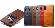 Cover i PU læder til iPhone forhandlet fra 4mobil, værdi kr. 249,-