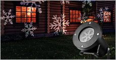 1 stk. Snefnug Projektor, værdi kr. 399,-