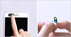 3-pak sikkerhedscover til kamera på PC, tablets og smartphones fra CC-Trading, værdi kr. 149,-