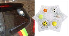 1 stk. klistermærke til bilen fra Try Us, værdi op til kr. 125,-