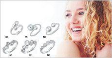 1 stk. ring i 925 sterling sølv fra Beautidesign, værdi kr. 895,-