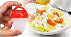 6  stk. æggeletter til tilberedning af æg, inkl. fragt, værdi kr. 249,-