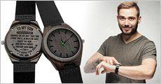 1 stk. armbåndsur med tekst fra Try Us, værdi kr. 634,-