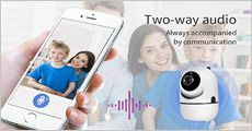 Intelligent kamera fra Bærbar, vælg ml. 1-3 stk., værdi op til kr. 2397,-