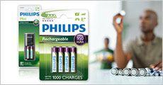 Genopladelige batterier m.m. fra Like2Buy, vælg ml. flere tilbud, værdi op til kr. 179,-
