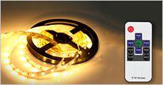 5 meter LED-lyskæde fra Bærbar, vælg ml. 1-3 stk., værdi op til kr. 1704,-