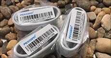 Foxconn Lighting kabel til iPhone & iPad, inkl. fragt, værdi kr. 168,-