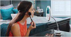 Fleksibel spejl med 10 x forstørrelse fra Stonevang Products, værdi kr. 349,-