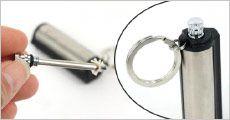 1 stk. tændstik i rustfrit stål fra The 99 inspirations, værdi kr. 159,-