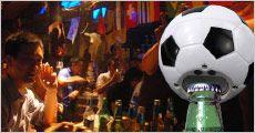 Sjov Fodbold øl-åbner, 1 eller 2 stk. normalpris op til kr. 476,-