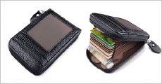 RFID beskyttet læderpung fra The 99 inspirations, værdi kr. 319,-