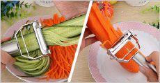 1 stk. multifunktions grøntsagsskærer fra The 99 inspirations, værdi kr. 299,-