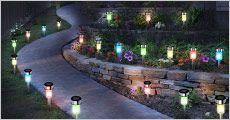 10 stk. rustfrie LED-havelys fra The 99 inspirations, værdi kr. 869,-