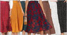 Nederdel fra The 99 inspirations, fås i flere farver og størrelser, værdi kr. 589,-