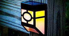 1 x Solar lampe inkl. fragt, værdi kr. 279,-