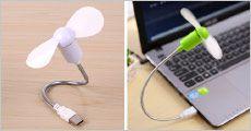 USB ventilator fra House of Hansen, vælg ml. flere tilbud, værdi op til kr. 777,-