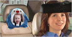 Babyspejl til bilen fra The 99 inspirations, værdi kr. 439,-
