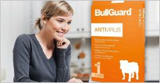 BullGuard Antivirus 2019 - 1 År 1 Bruger fra Geekd, værdi kr. 199,-
