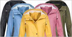 Vandtæt jakke med hætte fra The 99 inspirations, værdi kr. 819,-
