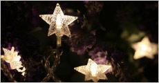 Stjerne lyskæde fra Shoppio, vælg ml. flere, værdi op til kr. 349,-