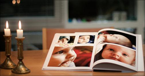 En fotobog fra Fotosjov.dk, vælg ml. 2 tilbud, værdi op til kr. 746,-