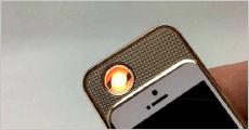 1 stk. elektronisk USB iPhone lighter perfekt i al slags vejr, værdi kr. 249,-