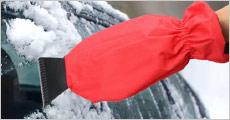 1 stk. isskraber handske fra Shoppio, vælg ml. 3 farver, værdi kr. 199,-