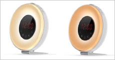 1 stk. flot vækkeur inkl. lysterapi fra Shoppio, værdi kr. 699,-