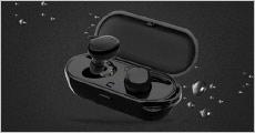 1 par TWS trådløse mini bluetooth høretelefoner fra The 99 inspirations, værdi kr. 679,-