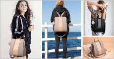 1 stk. rygsæk forhandlet fra The 99 inspirations, vælg ml. flere farver, værdi kr. 649,-