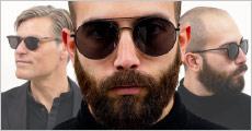 Kvalitet og dansk design! Flotte og moderigtige solbriller til herrer fra Jamie Looks. Fås i model Dino, Harrington og The lakes. Værdi kr. 799,-