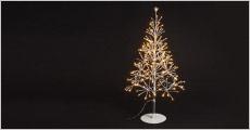 1 stk. flot juletræ med LED-lys forhandlet fra Shoppio, værdi kr. 899,-