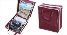 Opbevaringstaske til sko forhandlet fra The 99 inspirations. Vælg ml. 2 farver, værdi kr. 259,-