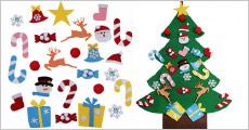 Få et super fint juletræs dekorationssæt forhandlet fra The 99 inspirations, rigtig god gaveidé til dine børn, værdi kr. 559,-