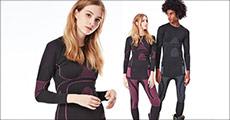 Køb 1 sæt skiundertøj forhandlet fra Shoppio, vælg ml. kvinde eller mand og mellem flere str., værdi kr. 829,-
