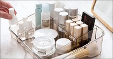 Køb opbevaringsbokse til kosmetik forhandlet fra Shoppio, vælg ml. 2 tilbud, værdi op til kr. 349,-