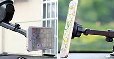 Få 1 stk. magnetisk mobilholder med langt skaft forhandlet fra Shoppio, værdi kr. 199,-