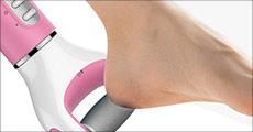 Få 1 stk. elektrisk fodfil forhandlet fra Shoppio, vælg ml. 2 farver, værdi kr. 399,-