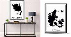 Køb plakat i ramme str. 50 x 70 cm. hos nördiske, vælg ml. 2 rammer samt 13 motiver. Værdi kr. 799,- Alle i et tidsløst design, der passer til ethvert hjem.