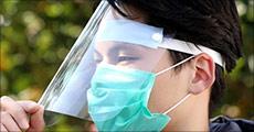 Hold hosten og nys på afstand! Du får 1 stk. transparent visir inkl. 1 stk. mundbind. Værdi kr. 239,-