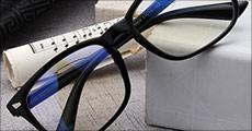 Køb 1 par computerbriller med anti-blue light glas fra Unique By Chanell. Normalværdi kr. 228,- Computerbrillerne er et MUST HAVE til alle, som sidder meget ved skærmen.