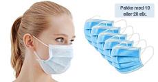 Skal du være tæt på andre mennesker? Køb CE godkendte mundbind fra Modane, vælg ml. 10 eller 20 stk. Normalpris op til kr. 598,-