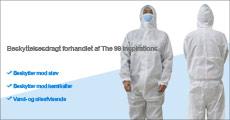 Køb 1 stk. beskyttelsesdragt fra The 99 inspirations, giver fuld barriere-beskyttelse mod sprøjt, støv, lak, harpiks, glasfiber m.m. Værdi kr. 769,-