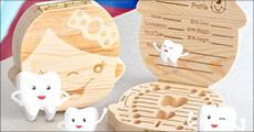 Køb 1 stk. Tandæske til børn forhandlet fra Nudeal, værdi kr. 199,- Vælg ml. æske til dreng eller pige.